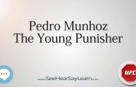 Pedro Munhoz   UFC Fighter s Nicknames 🔊